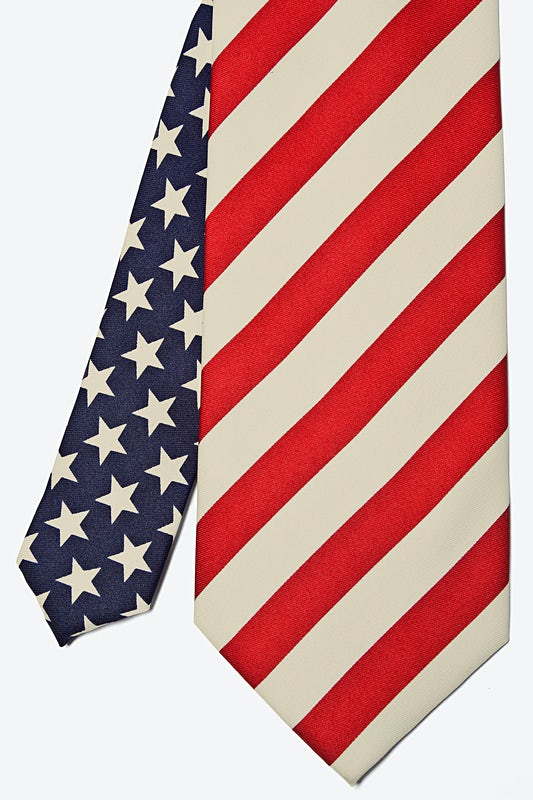Stars and Stripes Tie