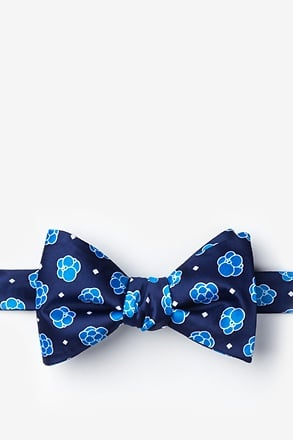 _Stem Cells Navy Blue Self-Tie Bow Tie_
