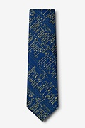 Transistor Radio Schematics Navy Blue Extra Long Tie Photo (1)