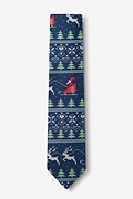 Ugly Christmas Sweater Skinny Tie