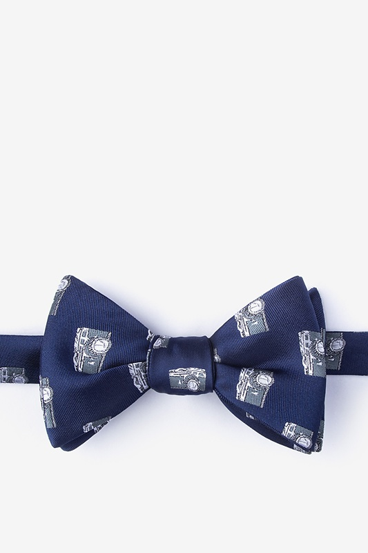Vintage Cameras Self-Tie Bow Tie Photo (0)