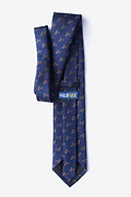 Weiner Dogs Navy Blue Extra Long Tie Photo (1)