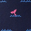 Navy Blue Microfiber Whale Tails
