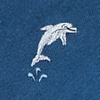 Navy Blue Silk A Porpoise-ful Life Tie