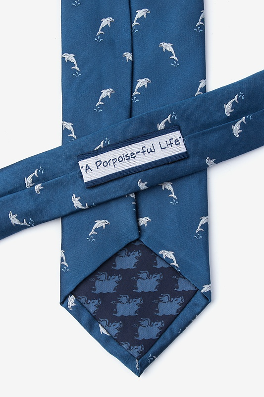 A Porpoise-ful Life Tie Photo (2)