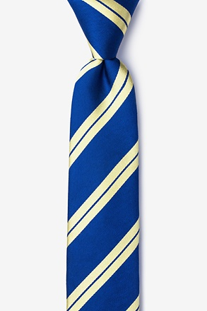 Blackwater Navy Blue Skinny Tie