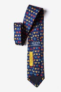 Box Turtles Navy Blue Tie Photo (1)