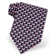 Christmas Whales Tie by Alynn Novelty