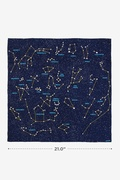 Connect the Dots Navy Blue Neckerchief by Alynn