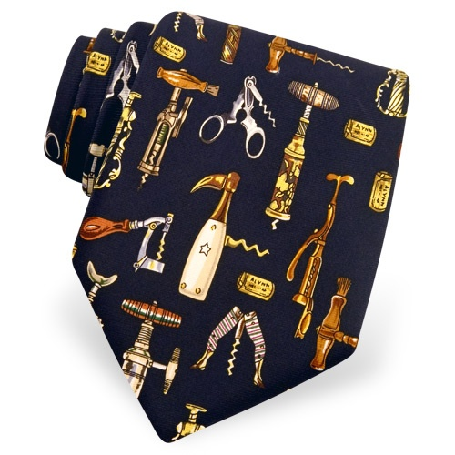 Corkscrew Collection Tie by Alynn Novelty