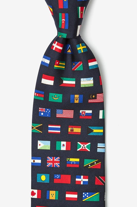 Country Flags Tie Photo (0)