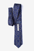 Cream of the Crop Navy Blue Extra Long Tie Photo (1)