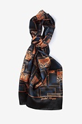 Dental Plaque Oblong Scarf by Infectious Awareables