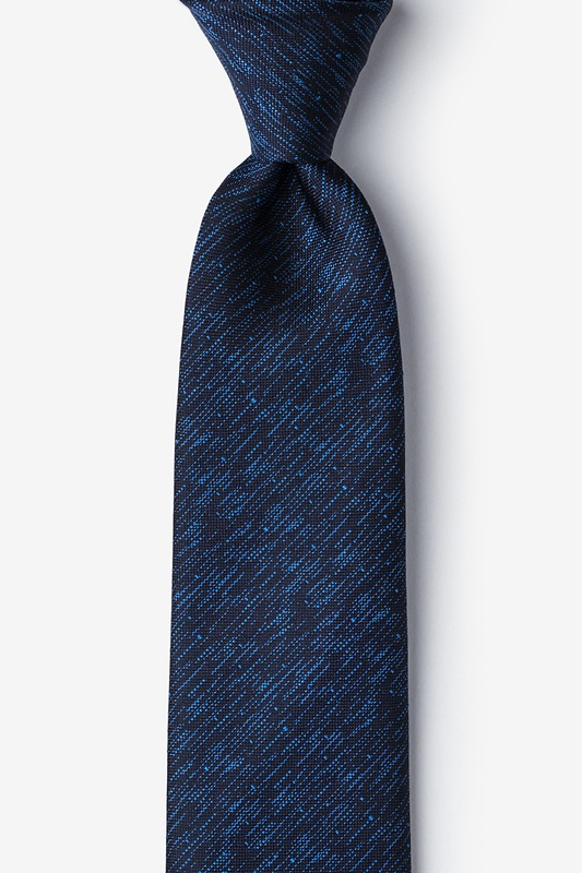Devon Navy Blue Tie Photo (0)