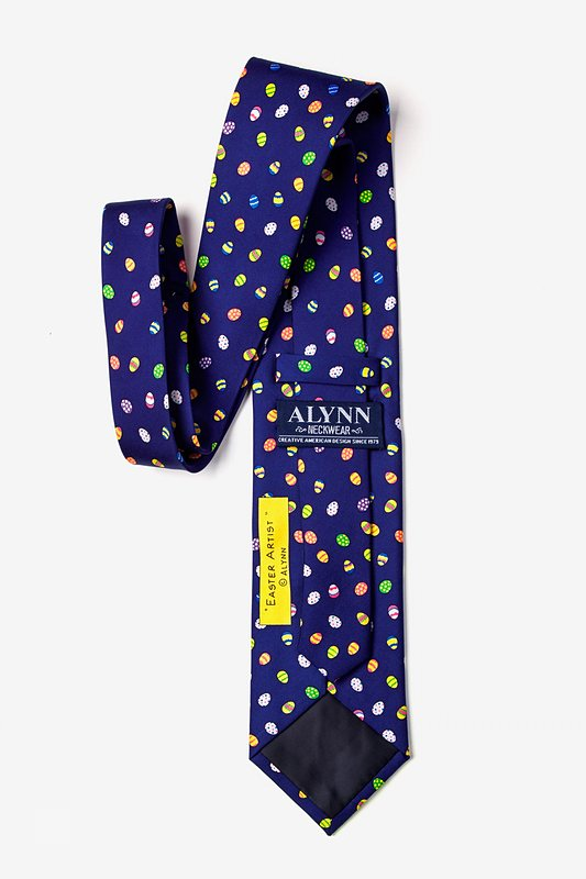 Easter Artist Navy Blue Tie Photo (2)