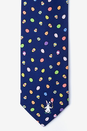 _Easter Artist Navy Blue Tie_