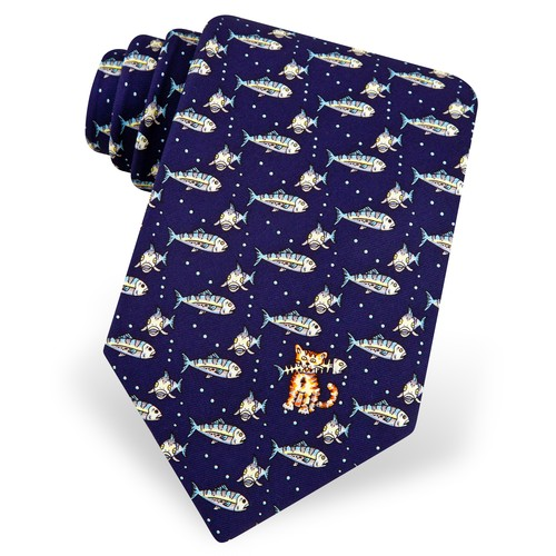 Fat Cat Tie by Eric Holch for Alynn Neckwear