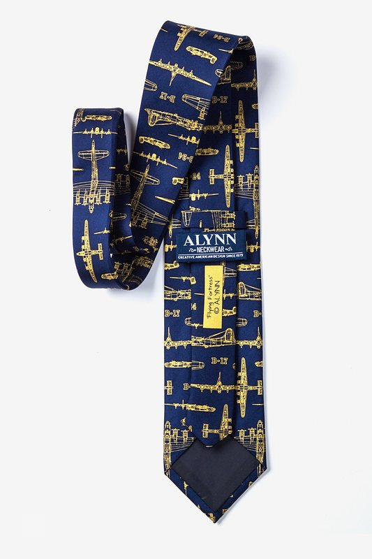 Flying Fortress Navy Blue Tie Photo (2)