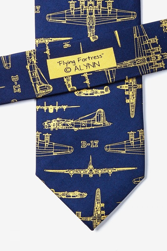 Flying Fortress Navy Blue Tie Photo (3)