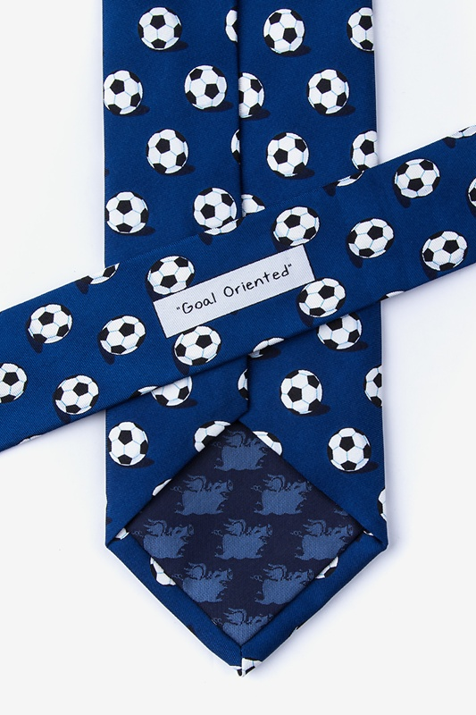 Goal Oriented Navy Blue Tie Photo (2)