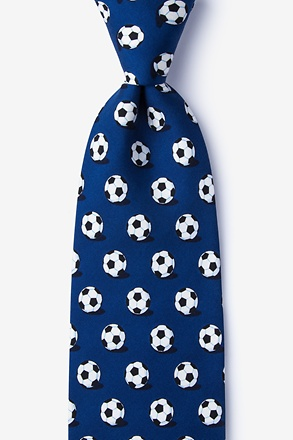 _Goal Oriented Navy Blue Tie_
