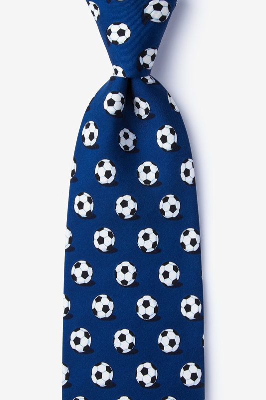 Goal Oriented Navy Blue Tie Photo (0)