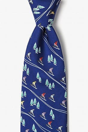 Hitting The Slopes Tie