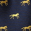 Navy Blue Silk Hold Your Horses Tie