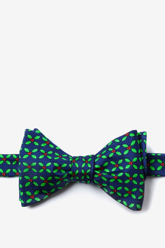 Holly Self Tie Bow Tie by Alynn Bow Ties