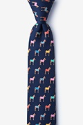Horse Blankets Skinny Tie Photo (0)