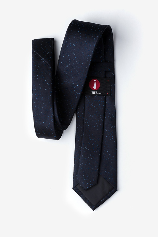 Iceland Navy Blue Extra Long Tie Photo (1)