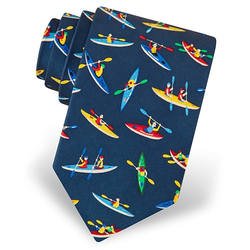 Kayaks Tie by Eric Holch for Alynn Neckwear