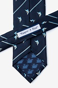 Keepin It Reel Navy Blue Tie Photo (2)