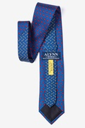Key to My Heart Navy Blue Tie Photo (2)