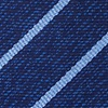 Navy Blue Silk Lagan Tie