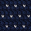 Navy Blue Silk Laos Knit Tie