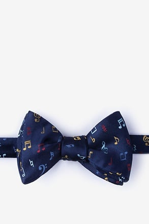 Let's Compare Notes Self-Tie Bow Tie