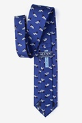 Let Sea-dom Ring Navy Blue Tie Photo (1)