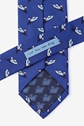 Let Sea-dom Ring Navy Blue Tie Photo (2)