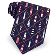 Lighthouses Tie by Eric Holch for Alynn Neckwear