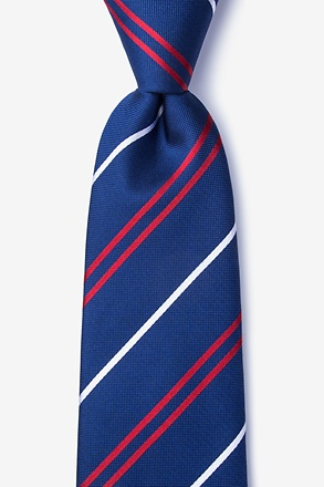 _Maigue Navy Blue Tie_