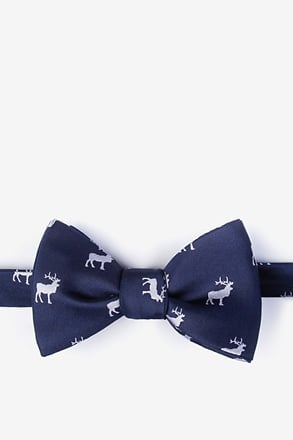 _Majestic Elk Self-Tie Bow Tie_