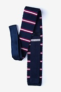 Maltese Stripe Knit Tie Photo (1)