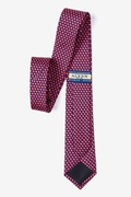 Micro Hearts Skinny Tie by Alynn Novelty