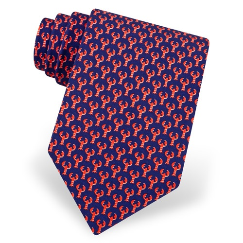 Micro Lobsters Tie by Alynn Novelty