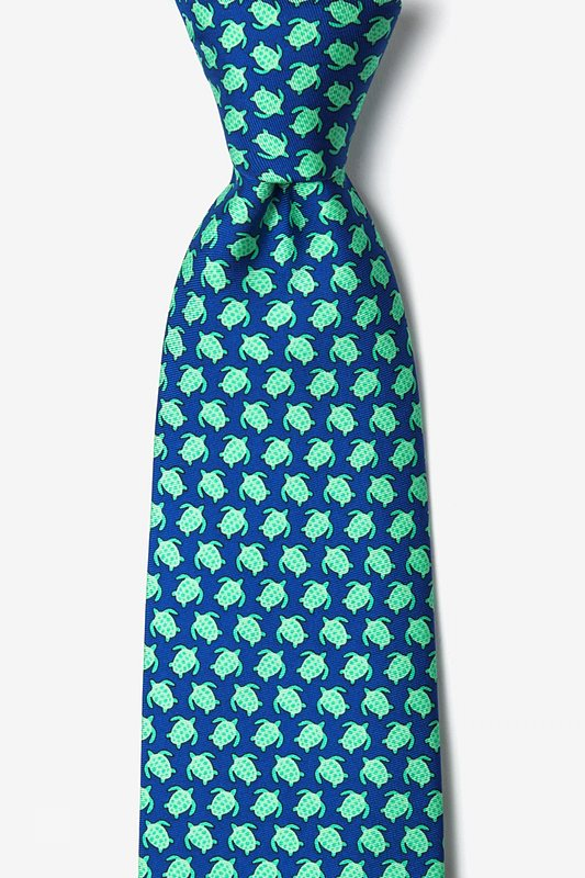 Micro Sea Turtles Tie