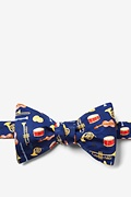 Musical Instruments Butterfly Bow Tie