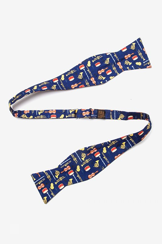 Musical Instruments Self-Tie Bow Tie
