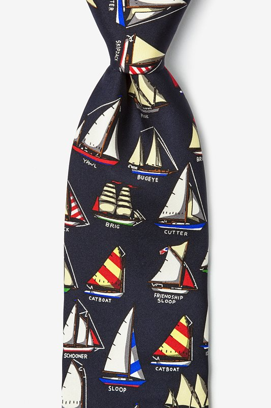 Name that Boat Navy Blue Tie Photo (0)