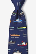 Name that Powerboat Navy Blue Tie Photo (0)